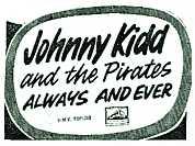 johnny kidd lyrics